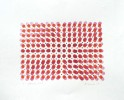 Afternoon Light (Illusion series)2009, stamp print on paper