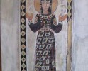 St Evdokia, guache on wood panel